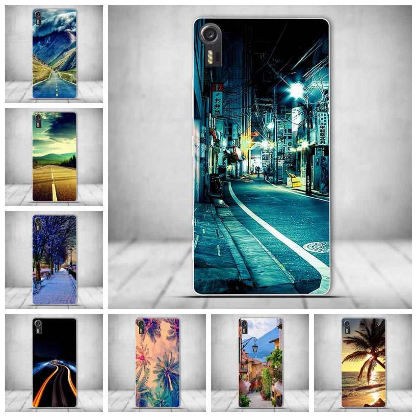 Luxury for Lenovo Vibe Shot Z90 Silicon Case Painted Protector TPU Back Cover Case For Lenovo Vibe Shot Z90 3D Relief Cover