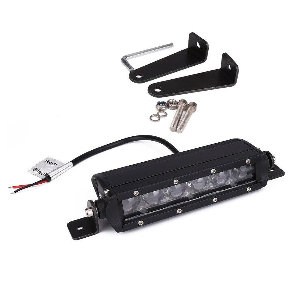 7.3inch led light bar 30W Car Work Light LED Off-road working lights Combo Beam Light Bar For Ford JEEP SUV UTE 4x4 ATV UTB