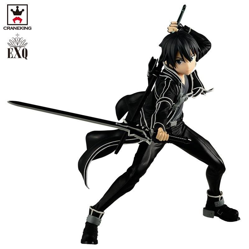 Brettyangel véritable Banpresto EXQ SAO épée Art en ligne KIRITO Collection Figure-in Jeux d'action et figurines from Jeux et loisirs    2