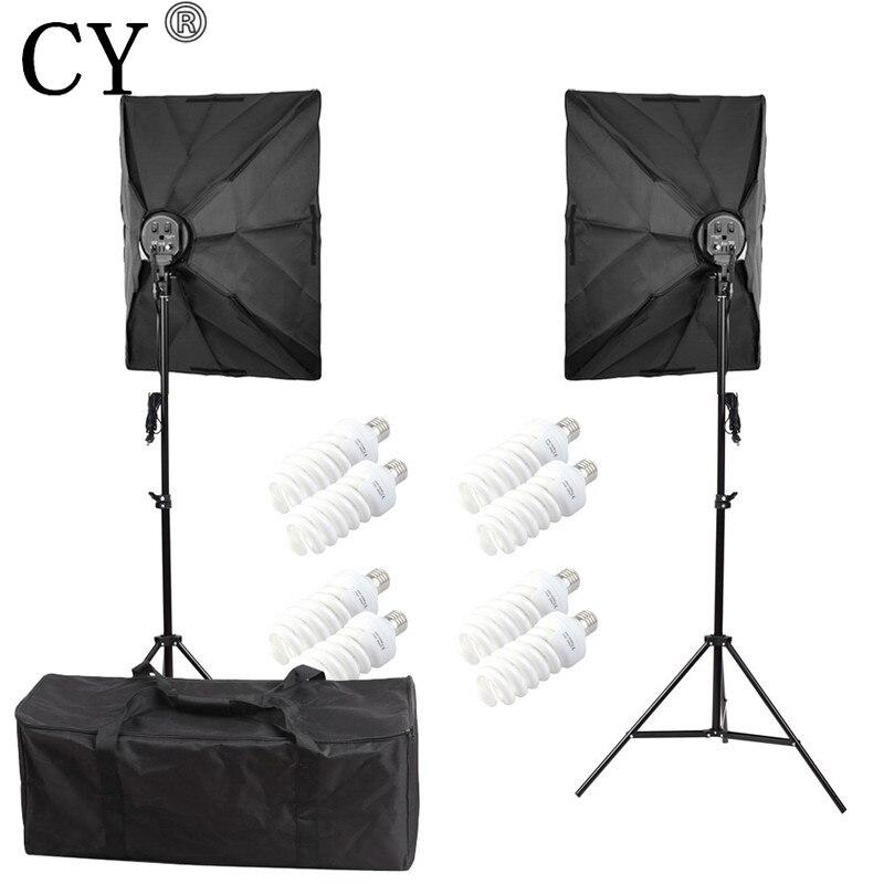 CY צילום רך Box תאורה רציפה ערכות תאורה - מצלמה ותצלום