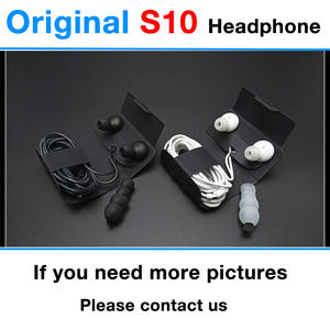 In-Ear-Headphones Note 8 Samsung S10 Original with Remote-Mic for 100pcs/Lot Headset