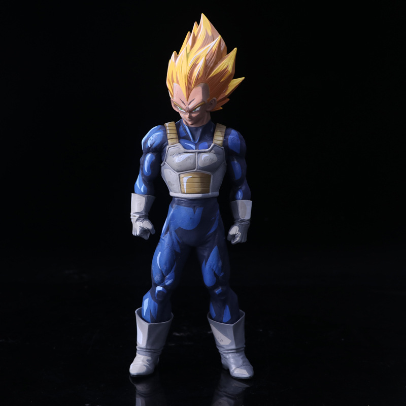 Dragon Ball Z SMSP Super Master Stars Piece Big Size 33cm The Vegeta Manga Ver. PVC Action Figure Collectible Model Toys Doll dragon ball z black vegeta trunks pvc action figure collectible model toy super big size 44cm 40cm