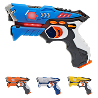 CS Playing Digital Electric Guns Toy Laser Tag With Flash Light Sounds Effect Shooting Game Toys For Children
