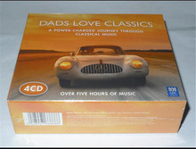 Cd Box Set Sale Wn-018; New Non-demolition 4cd Set: Dad Love To Listen The Classical Music Dads Classics Suite; Free Shipping,