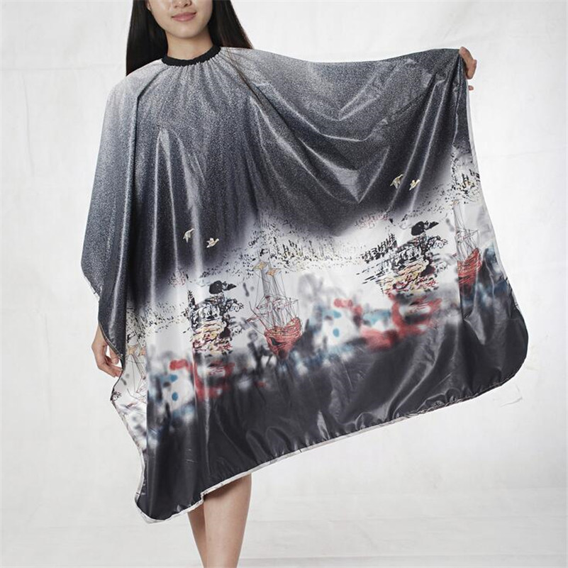 Salon Barber Gown Cape 1PCS Adult Hairdressing Hairdresser Hair Cutting Aprons Cloth Hair Accessories Tools 4