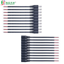 5pcs 10pcs 100pcs 15cm DC Female Male Connect Cable 2.1*5.5mm Wire Connector For LED Strip CCTV Camera Power Adapter(China)