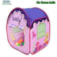 Akitoo новые детские палатки утки крытый и открытый игрушки принцесса игры Дом юрты замок мяч бассейн игрушки