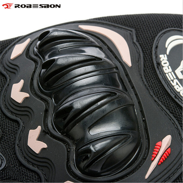 ROBESBON Half Finger Knight Bicycle Gloves Gel Motocross Mittens Guantes Ciclismo Sport Training Luva Bike Cycling Gloves