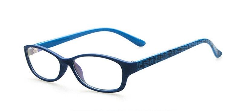 Новая модная детская одежда для мальчиков и девочек полный обод оправы для очков близорукость Rx ребенка детские очки Фирменная Новинка - Цвет оправы: Blue