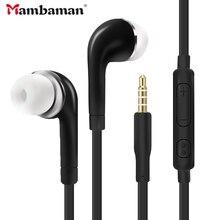 J5 dans loreille filaire écouteur lourd basse son stéréo musique S4 casque fone de ouvido Sport fone de ouvido pour Samsung S6 S8 S9 S10