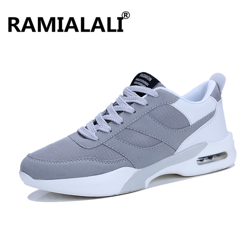 Ramialali Men Sport Shoes 2018 Mens Air Sole Running Shoes Outdoor Cushioning Walking Shoes for Men Sneakers Flats