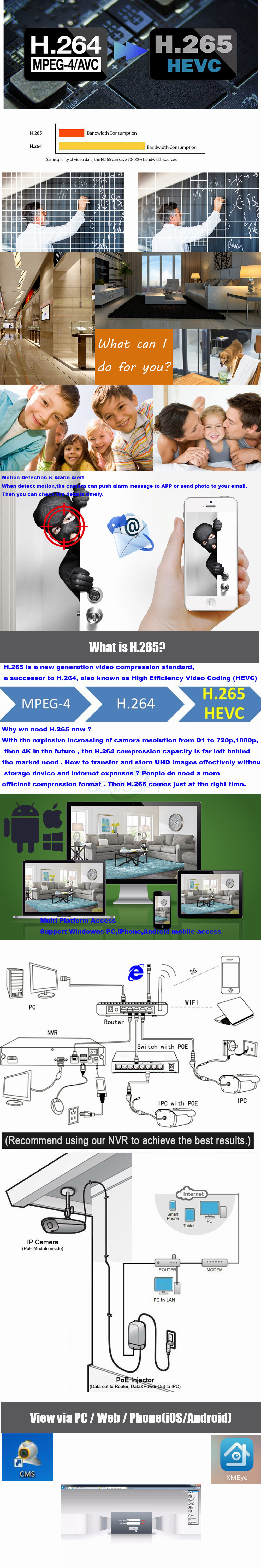 Wide Angle Lens Mini 1080P Flying Saucer Dome H 265 H 264 ONVIF Security  Surveillance CCTV IP Camera POE UFO Camera For Elevator