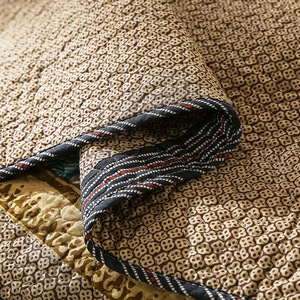 Image 4 - 100% Katoen Omkeerbaar Dekbed Handgemaakte Patchwork Chic Sprei Bed cover 2 kussenhoezen 3 stuks King Queen Size Deken