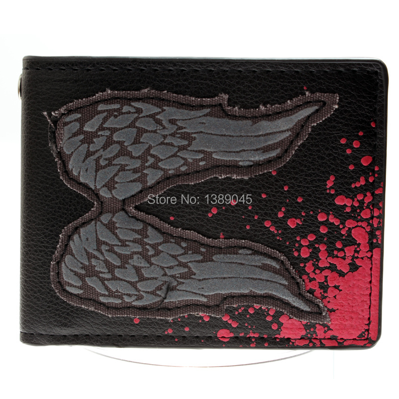 Walking dead walking wallet The tide boys and girls purse wallet for young students DFT-1293 cute love heart arrow angel bracelet for women