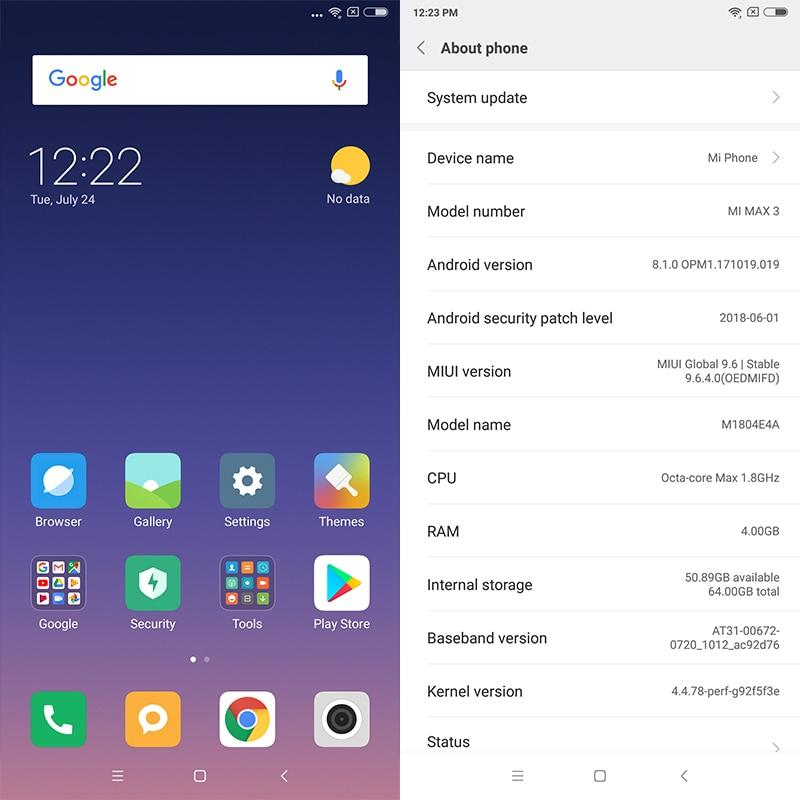Original Xiaomi Mi Max 3 4gb Ram 64gb Rom Mobile Phone Snapdragon 636 Octa Core 6.9'' Full Screen 5500mah Ai Dual Camera B4 B20 #3