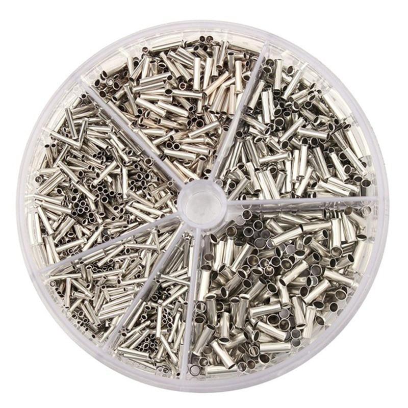 0,5 шт. 1900-2.5mm2 изолированный медь обжимной провода разъем шнур Конец Терминал комплект