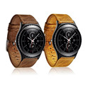 Luxury Genuine Leather Men Women Watch Band Wrist Strap For Samsung Galaxy Gear S2 Classic Watchbands Accessories
