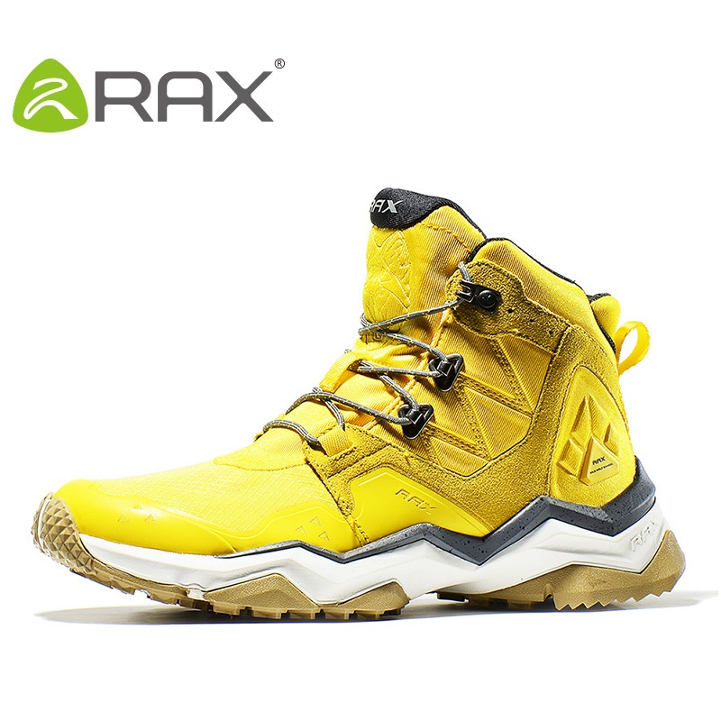 Rax Waterproof Hiking Shoes For Men And Women Outdoor Breathable Hiking Boots Warm Outdoor Walking Shoes Shoes B2752 waterproof hiking shoes for men warm winter hiking boots waterproof snow boots for man outdoor hiking shoes female zapatos