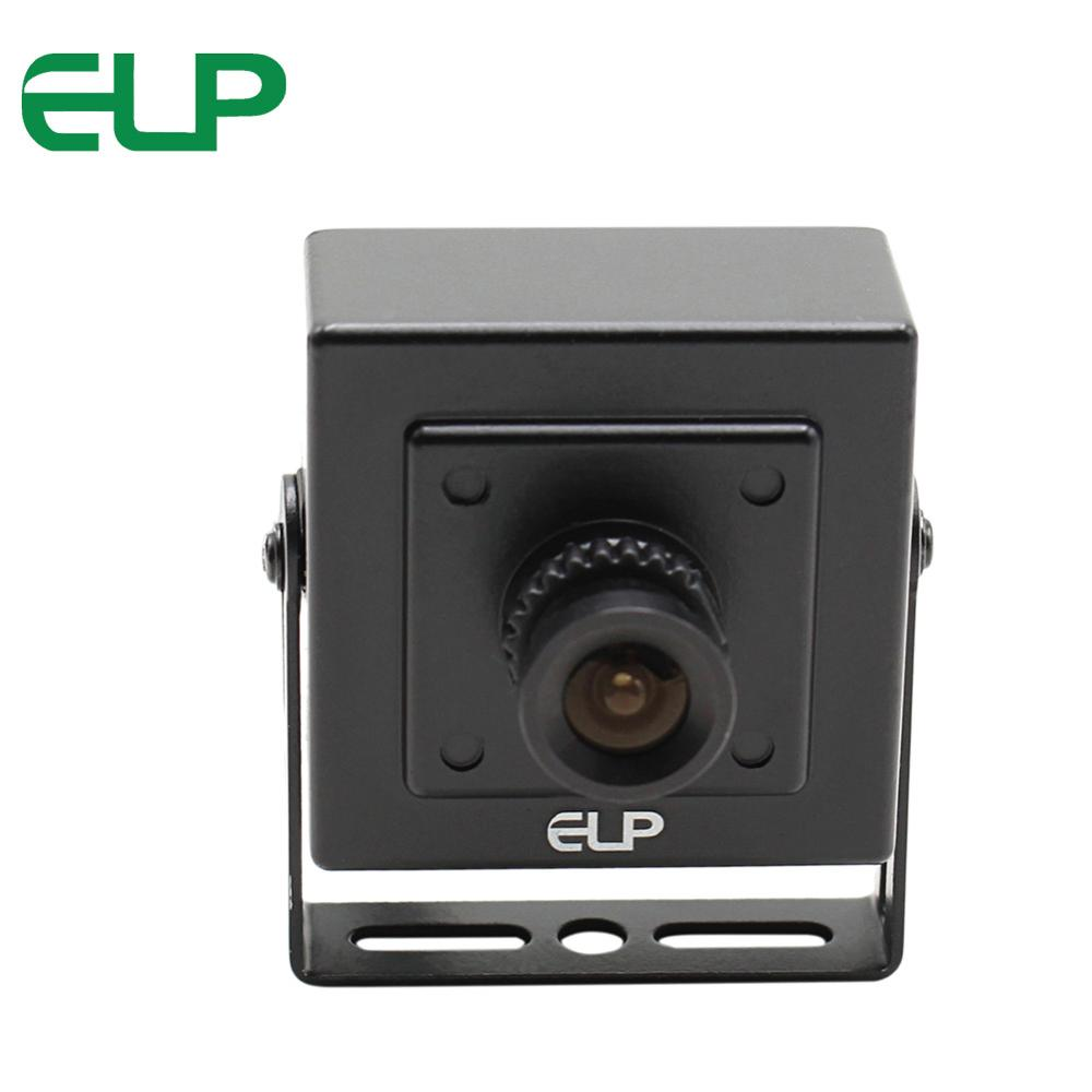 ELP 1.3MP 1280*960 Hd Metal Case Mini Usb Camera Webcam with HD Board Lens for Building or Industrial Video Security цена 2017