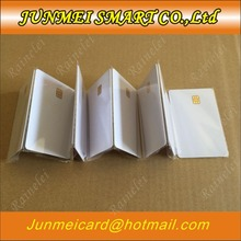 無料ショッピング連絡 SLE4442 チップ ISO7816 pvc スマート ic カードの 10 個
