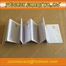 Ücretsiz alışveriş iletişim SLE4442 çip ISO7816 PVC akıllı IC kartı 10 adet
