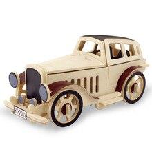 Wooden Vintage Car Handmade Toys