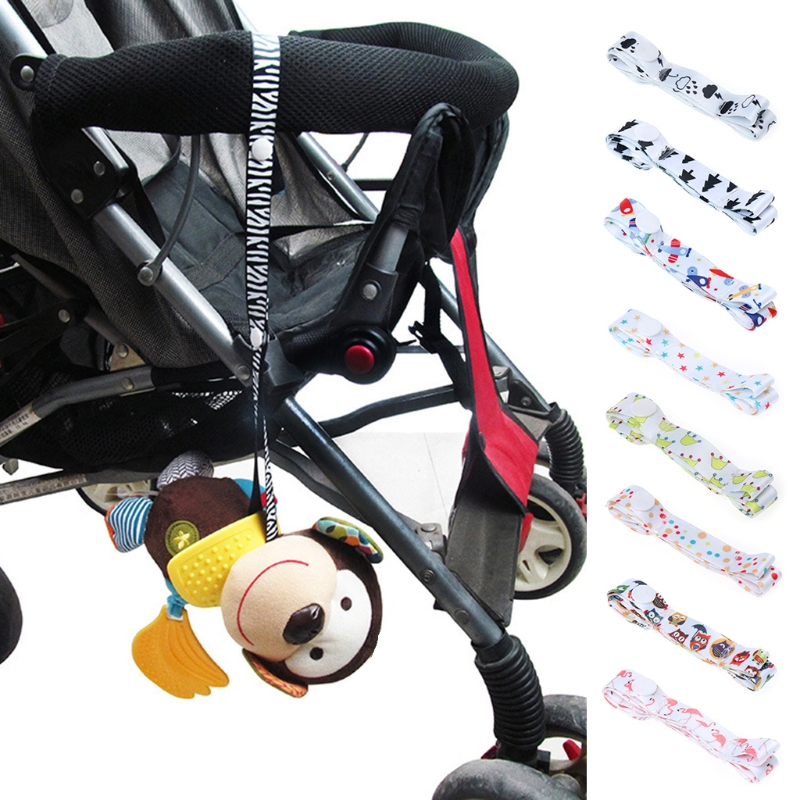 Baby Trolley Toy Anti-drop Lanyard Stroller Toys Fixed Strap Cute Holder Anti Lost Drop Band Accessories Saver