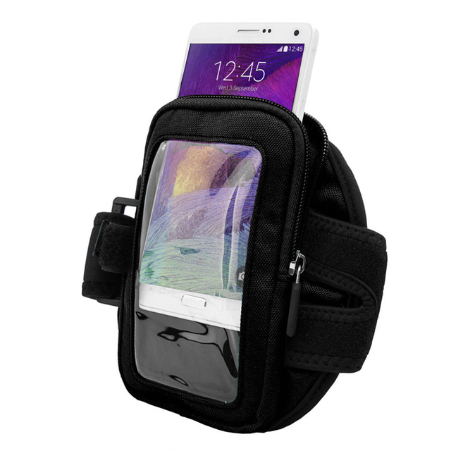 Quality Multifunction Running Sports Armband Zipper Bag Wallet Case Phone Holder for iPhone 6 6S Plus Samsung Galaxy Note 5 4 S6