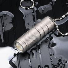 Tiartisan outdoor titanium alloy flashlight USB charging mini EDC small hand electric home camping portable waterproof lamp