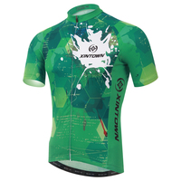XINTOWN Men Bicycle Cycling Running Short Sleeve Jersey Top Breathable MTB Mountain Bike Quick Dry Breathable