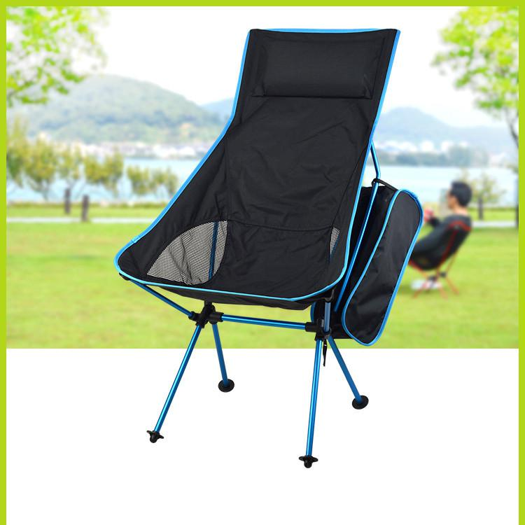 Portable Ultralight Collapsible Moon Leisure Camping Chair with Bag for Outdoor Hiking Travel Picnic BBQ Beach FishingPortable Ultralight Collapsible Moon Leisure Camping Chair with Bag for Outdoor Hiking Travel Picnic BBQ Beach Fishing