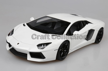 White 1 18 Scale Aventador LP700 4 Roadster Luxury Sport Car Collection Diecast Model Car