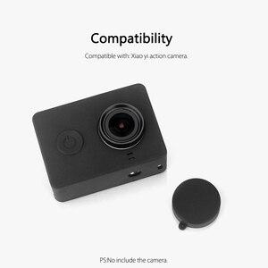 Image 4 - Vamson para xiaomi para yi acessórios à prova de poeira silicone caso protetor + tampa da lente para xiaomi para yi esporte ação câmera vp620