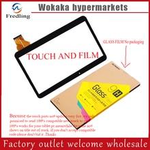 "Película de vidrio + Nuevo Para 10.1 ""Irbis TZ11 3G/Irbis TZ12 3G Tablet de pantalla táctil Touch reemplazo digitalizador del Sensor de Cristal"