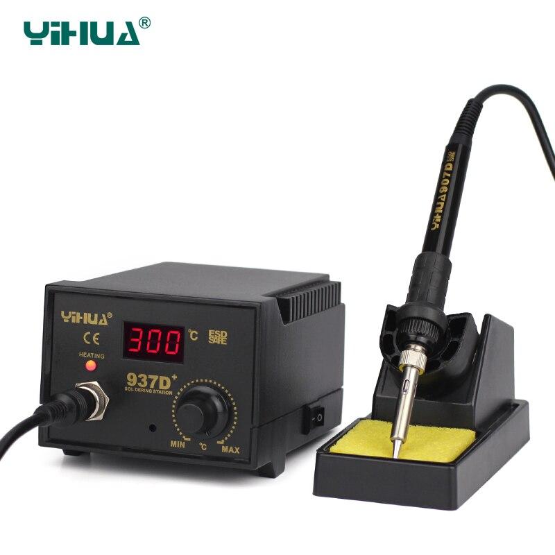 YIHUA 937D+ Digital  Mobile Phone Soldering Station 220V цены