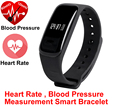 LED Smart Bracelet Wristband Bluetooth 4.0 IP67 Waterproof Heart Rate Monitor Sport Tracker Smartband for Android iOS