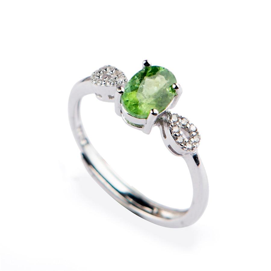 Genuine Green Natural Tourmaline Quartz Gemstone Crystal Wedding