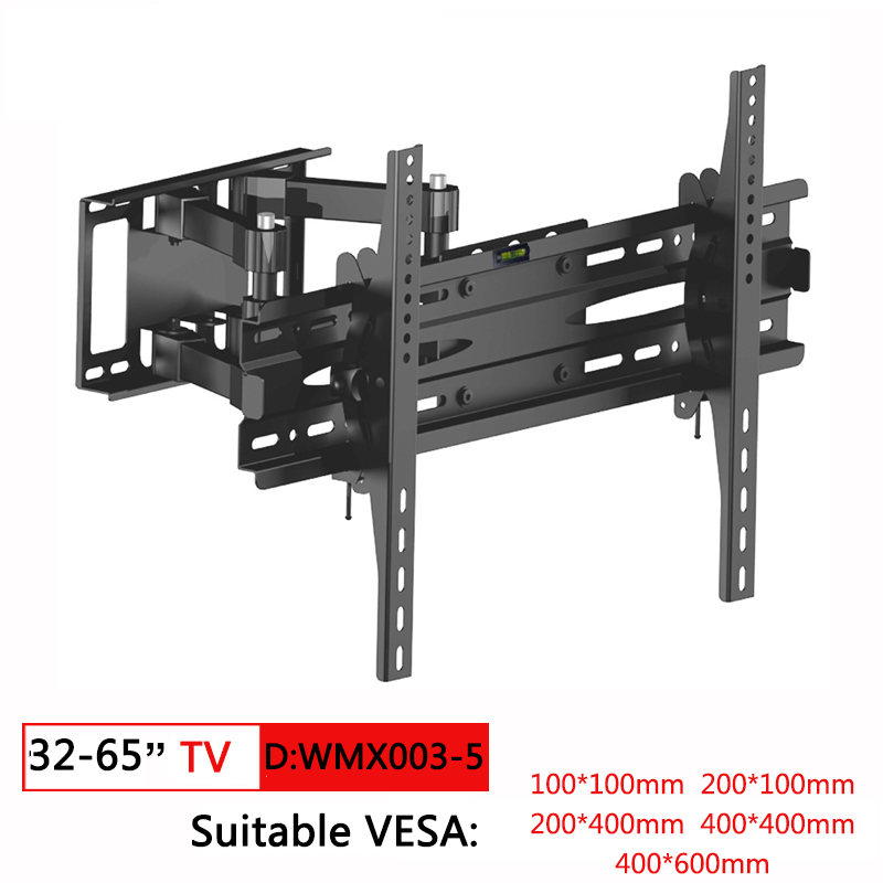 Tv-Bracket Tv-Holder Tv-Stand Monitor Wall-Mount Rotated Tilt 10-70inch for PC
