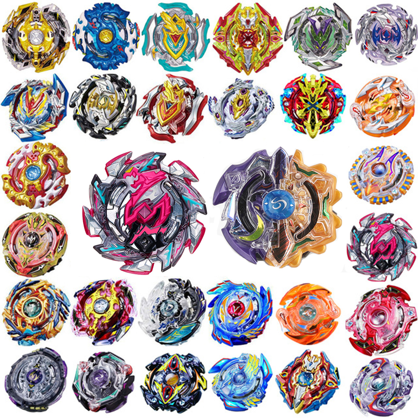 2019 Newest All Models Beyblades Burst Metal Toupie Launcher Gyro Toy B-48 B-66 B97 B100 B86 B34 B92 B59 Bay Blade  Gift For Kid