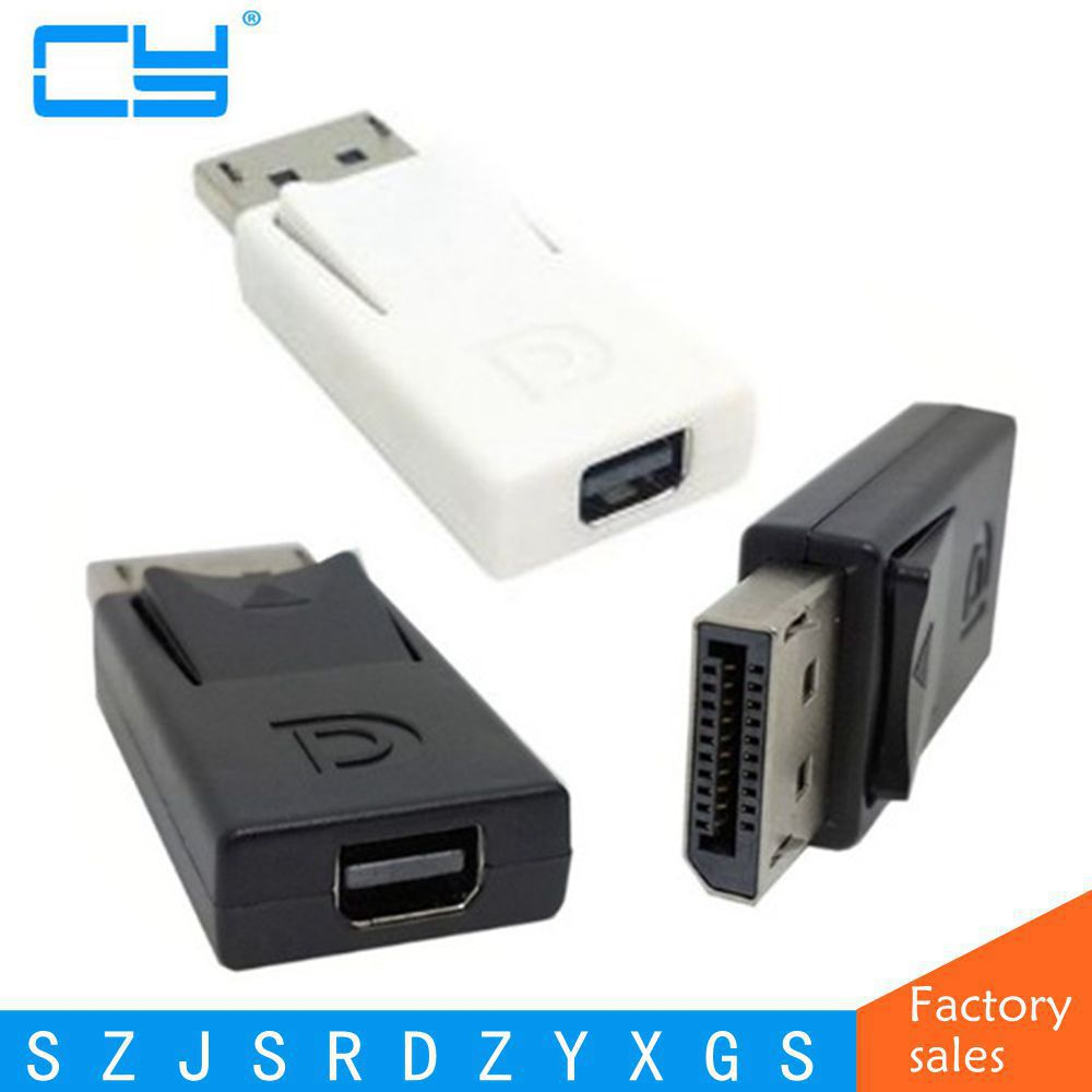 DP Male to Mini DP Female Adapter DisplayPort Male to Mini DisplayPort Female Connector Displayport DP Male Thunderbolt FeMale ce link mini dp к vga мини displayport патч корд