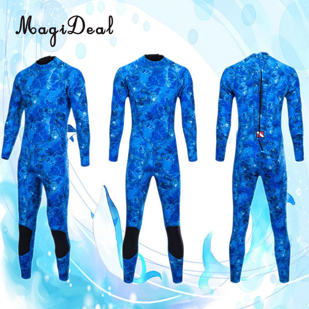 Combinaison de plongée professionnelle en néoprène 3mm pour hommes plongée sous-marine surf natation pour S-XXL de maillots de bain sous-marine - 2