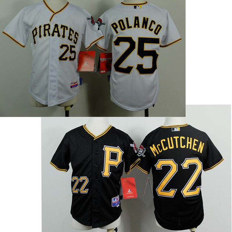 size 40 f57a5 ae46c Cheap Jerseys Pittsburgh Pirates #22 Andrew McCutchen ...
