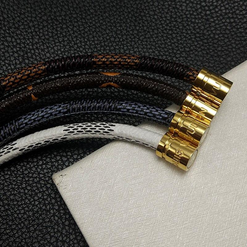 82F9B422D43AC768EFB6D595A6087B81 -   VEROMCA Leather-based Bracelet Stainless Metal Bracelets Males Jewellery Excessive High quality Charms Bracelets jewellery Magnetic Bracelet HTB1ldKzyh1YBuNjy1zcq6zNcXXaM