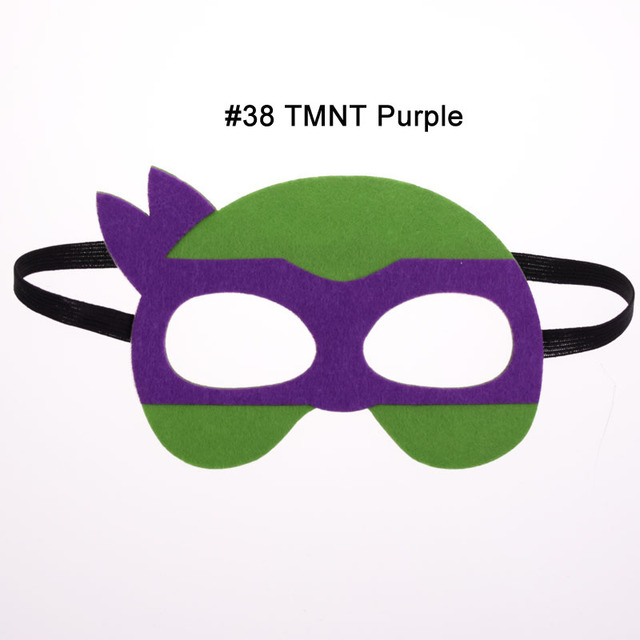 1pc Ninja Turtles Mask Hulk Batman Superhero Cosplay Superman The Avengers Kid Birthday Gift Cosplay Masquerade Party Masks 1