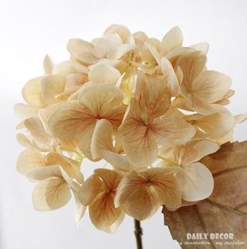 3D HI-Q artificial Hydrangea wholesale high simulation silk flowers decorative Hydrangeas fake Hydrangea macrophylla 12pcs/lot