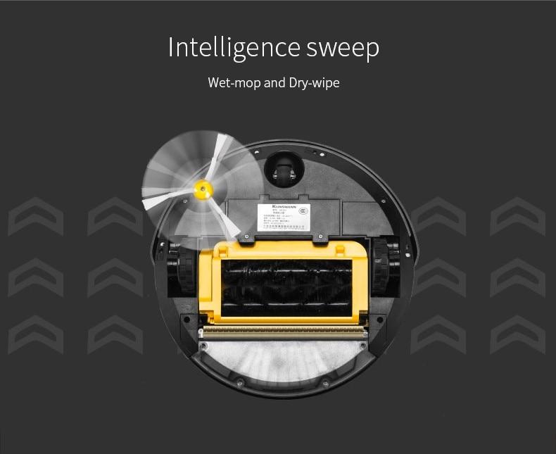 Aspirateur robotique automatique avec filtre à eau 300ML pour la - Appareils ménagers - Photo 3