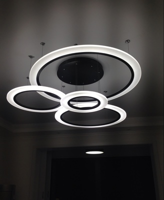 Modern Led Pendant Lights Lamparas Acrylic Chandelier Ceiling Lamp Luminaire Deco Restau ...
