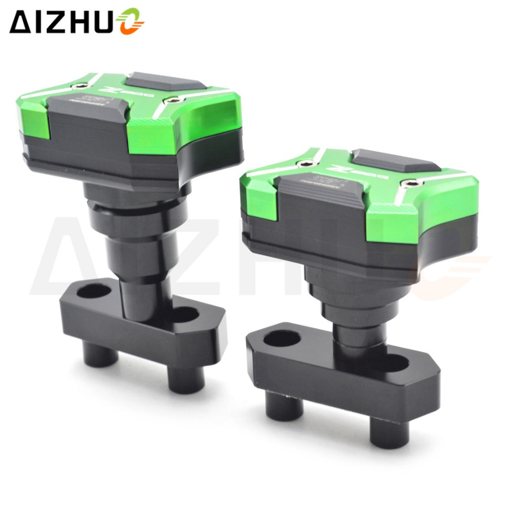 Motorcycle Accessories Frame Slider Falling Protector Motor Anti Crash With Z800 Logo Aluminum Alloy Protector For Kawasaki Z800