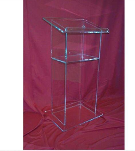 AAcrylic Lectern/Lucite Church Podium Transparent Pmma Pulpit Glass Pulpit Church Acrylic Podium Plexiglass