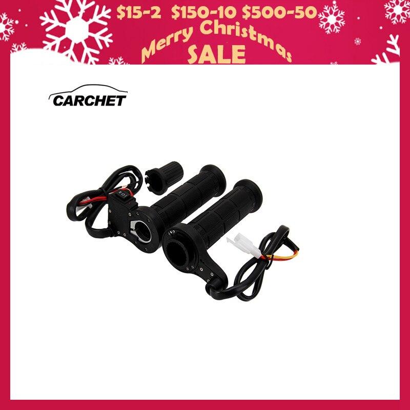 CARCHET Moto Manubrio Moto Maniglia Riscaldamento Heated Grips Set Universale Motocross Manubrio Riscaldata Grip Per Honda etc